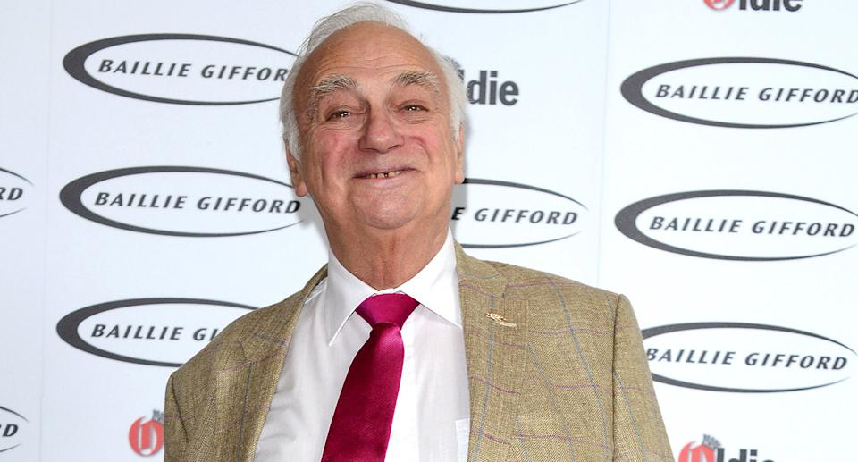 Entertainer Roy Hudd died with his wife Debbie by his side in March at the age of 83 following a short illness. The comic had fronted BBC Radio 2's <em>The News Huddlines</em> for 26 years with his other career credits included a stint as undertaker Archie Shuttleworth on <em>Coronation Street</em>. (Photo by Karwai Tang/WireImage)