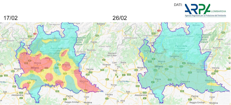 Particulate matter Italy
