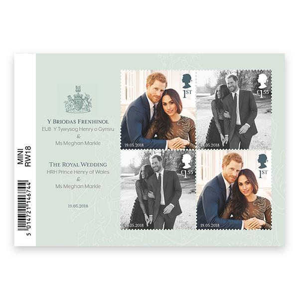 """<p>The Royal Mail's pack of four commemorative stamps, <a rel=""""nofollow"""" href=""""https://shop.royalmail.com/the-royal-wedding/the-royal-wedding-miniature-sheet/invt/mz132"""">£4.44</a> </p>"""