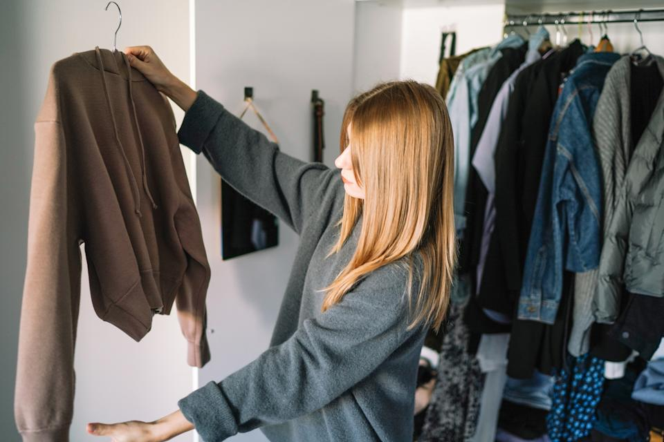 Try and buy less as well as opting for better quality products. (Getty Images)