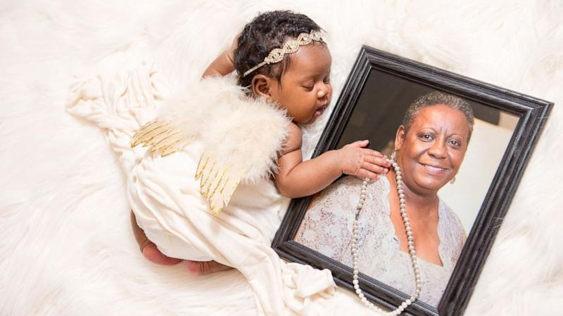 Maryland Mom Honors Late Mother Who Died From Cancer in Touching Newborn Photo Shoot