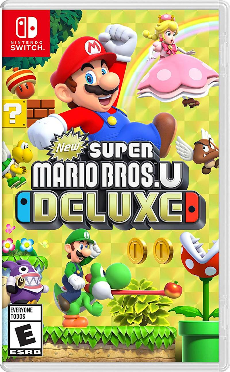 Super Mario Bros. U Deluxe is old school gaming with a modern twist. (Photo: Amazon)