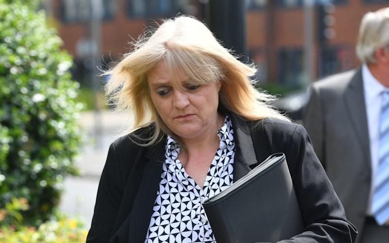 Sherry Bray, a CCTV company director who is to be sentenced for illegally accessing footage of footballer Emiliano Sala's body in the mortuary - PA