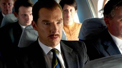 """<span class=""""caption"""">Benedict Cumberbatch plays British businessman Greville Wynne who gets caught up in espionage during the Cuban Missile Crisis. </span> <span class=""""attribution""""><span class=""""source"""">Liam Daniel</span></span>"""