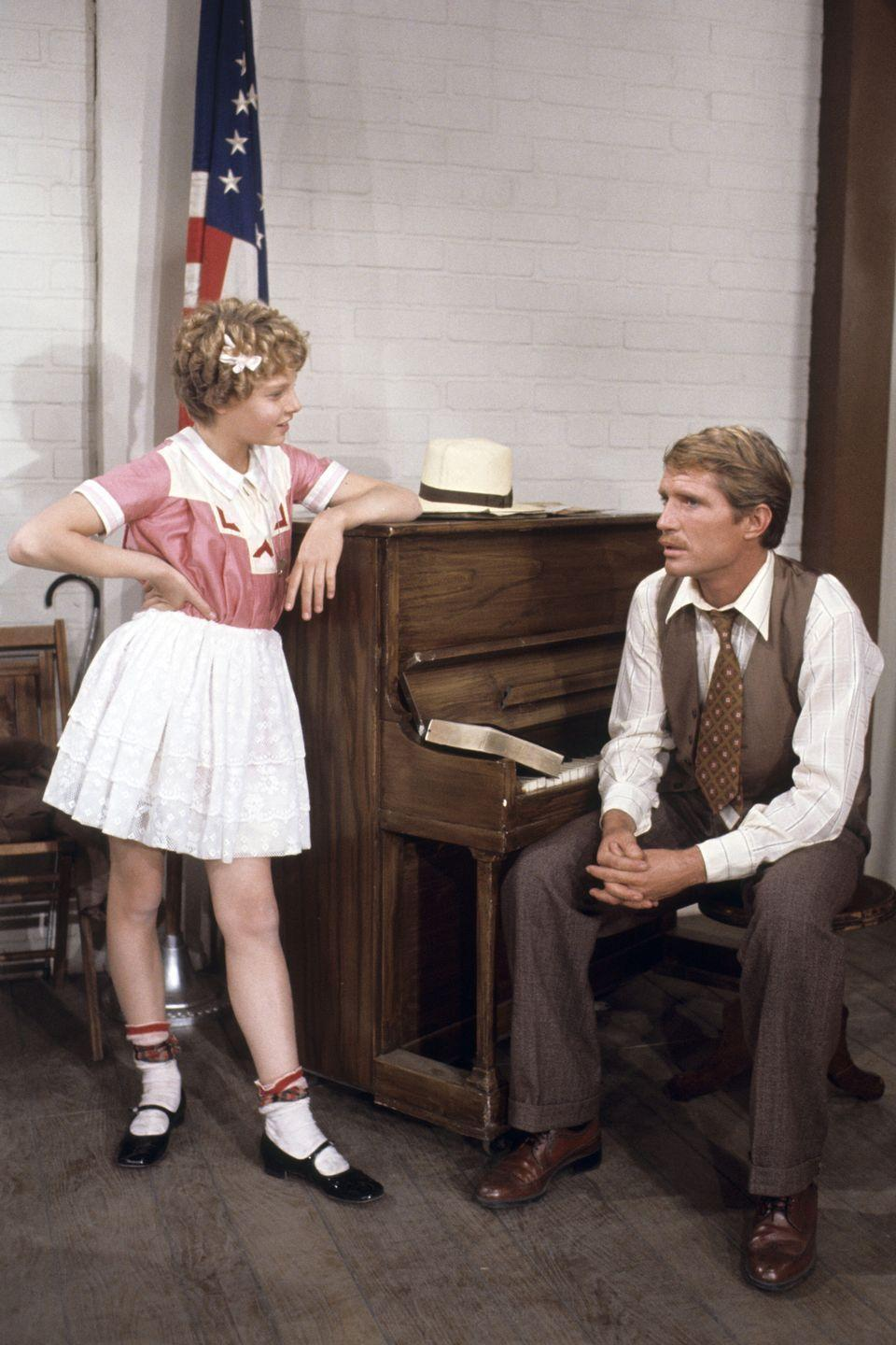 <p>Mary Janes were popular among kids, like Jodie Foster pictured here on the TV show <em>Paper Moon, </em>and grown-ups alike. </p>
