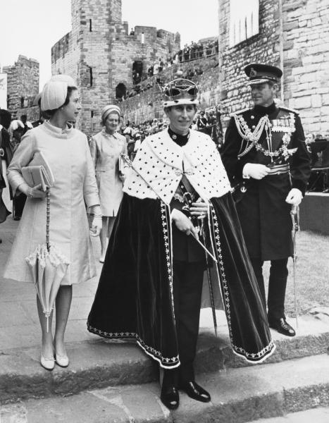 Investiture Of Prince Charles