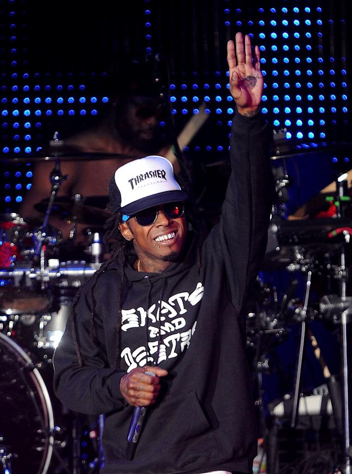 "Rapper Lil Wayne turns 29. C Flanigan/<a href=""http://www.wireimage.com"" target=""new"">WireImage.com</a> - September 2, 2011"