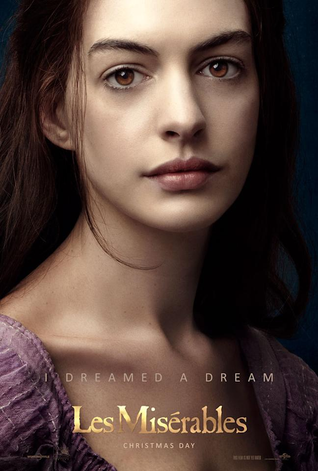 """Anne Hathaway as Fantine in Universal Pictures' """"Les Miserable"""" - 2012"""