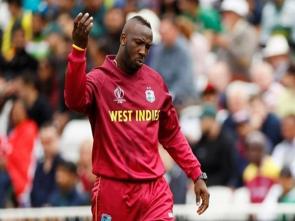 West Indies all-rounder Andre Russell (file image)