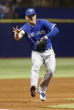 Josh Donaldson could start at third base for the AL. (Getty Images)