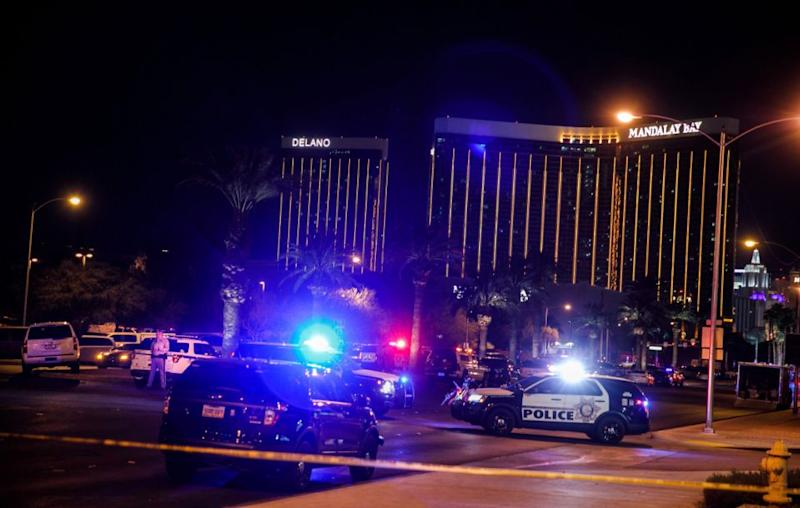 Celebrities have sent messages of support to the people of Las Vegas after the horrific shooting at the Route 91 Harvest Music Festival on Monday, that left 59 people dead and approximately 200 injured. Source: Getty