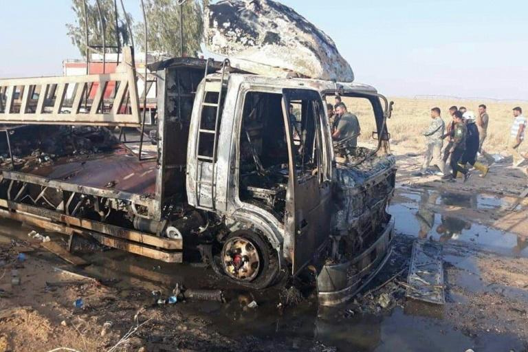 Iraq's Hashad al-Shaabi paramilitary force said one of its fighters was killed in the strike
