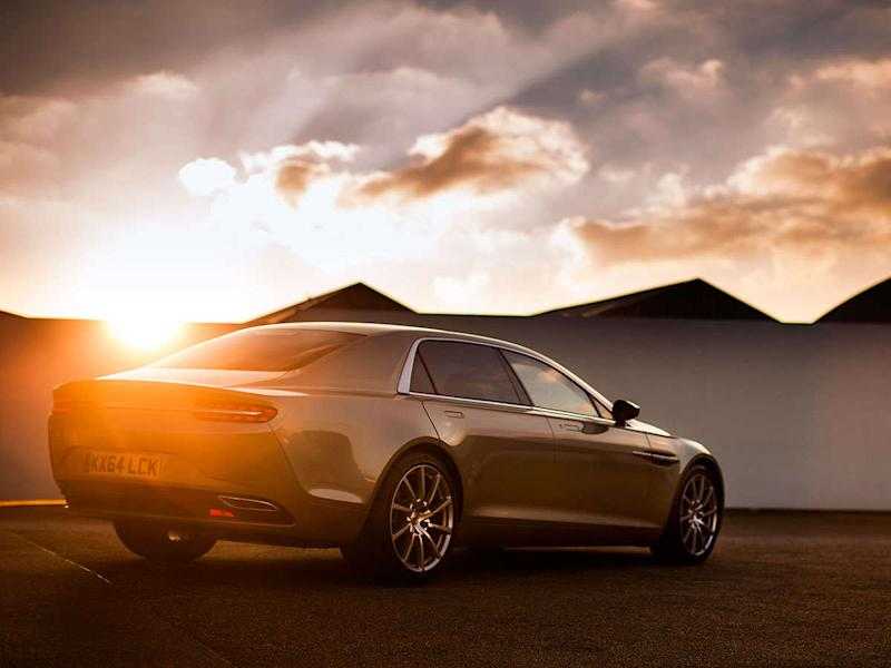 Aston Martin Lagonda Nameplate to Compete With Bentley and Rolls-Royce?