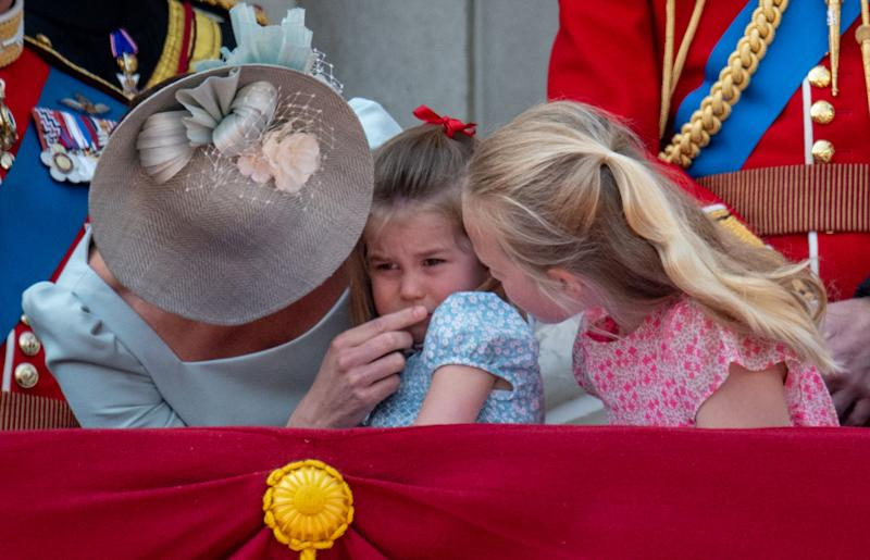 Princess Charlotte threw a small tantrum at one point but it was still pretty adorable More