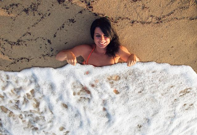 Nice sea-foam blanket!