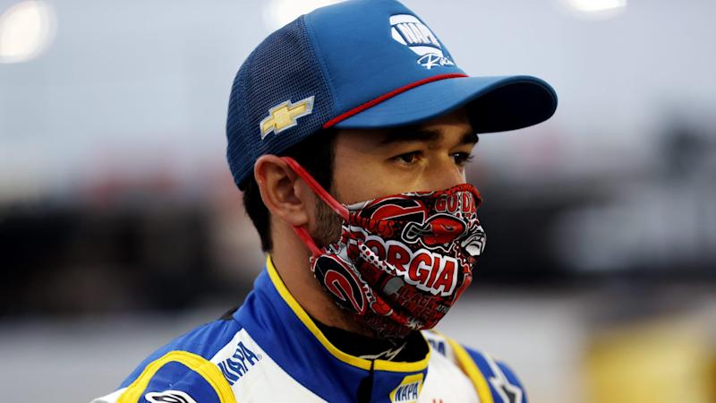 Chase Elliott will start from Cup pole at Darlington to open playoffs