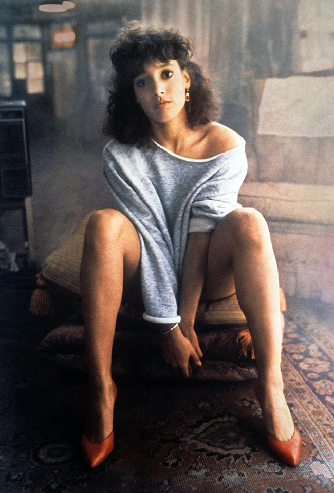 "Jennifer Beals didn't do all her own moves for ""Flashdance."""