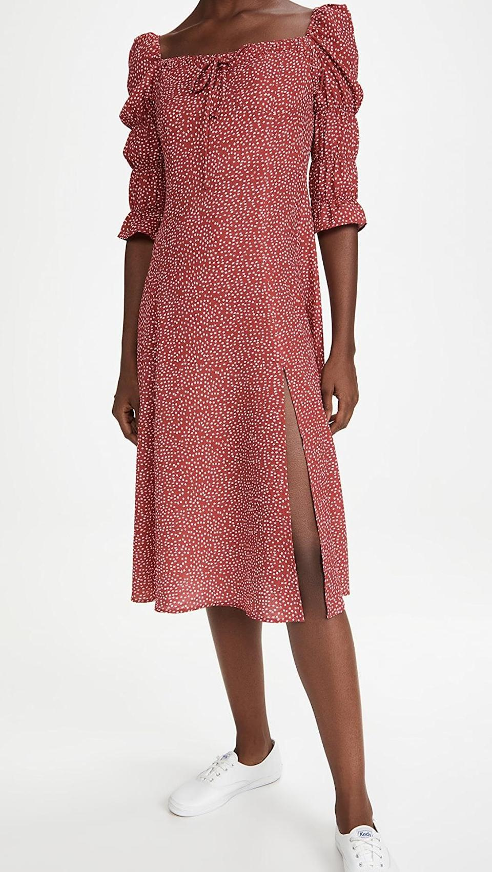 <p>Wear this <span>OPT She's Picky Dress</span> ($135) with sneakers.</p>