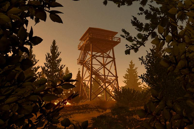 The new 'Firewatch' update adds a free-roam mode and PlayStation 4 Pro support