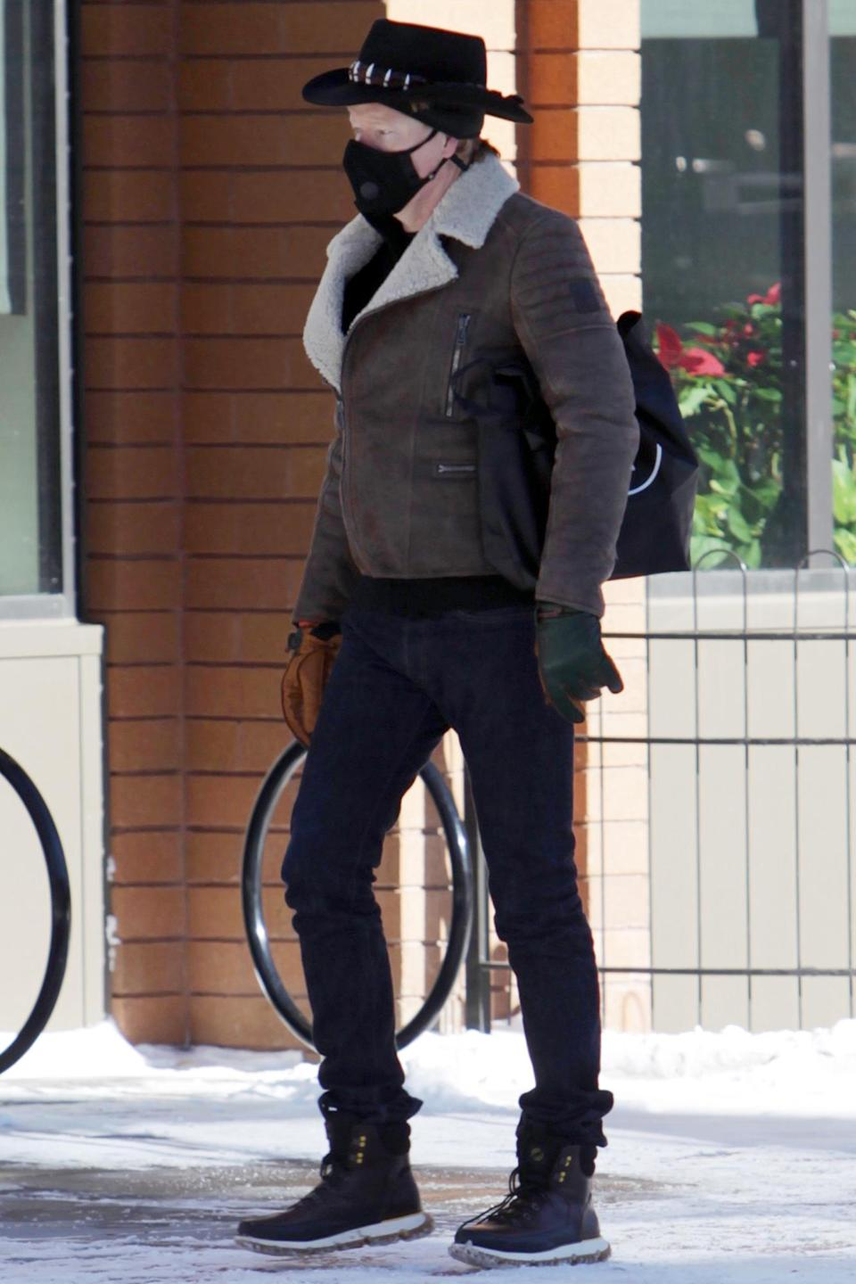 <p>Conan O'Brien was out and about on Christmas Eve in Aspen, Colorado.</p>