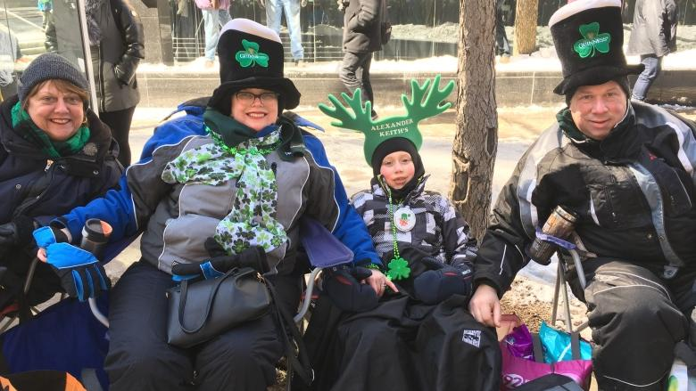 Montreal goes green for annual St. Patrick's Day parade