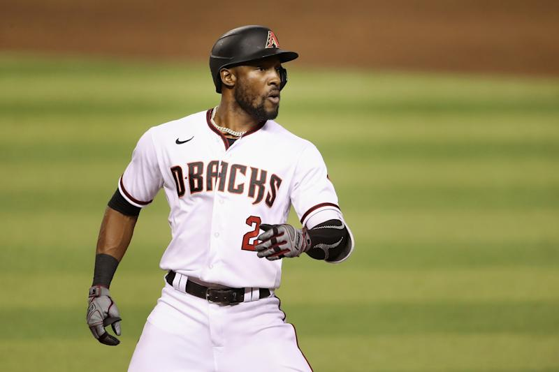 Starling Marte has been traded to the Marlins after the D-backs traded for him this past offseason. (Photo by Christian Petersen/Getty Images)