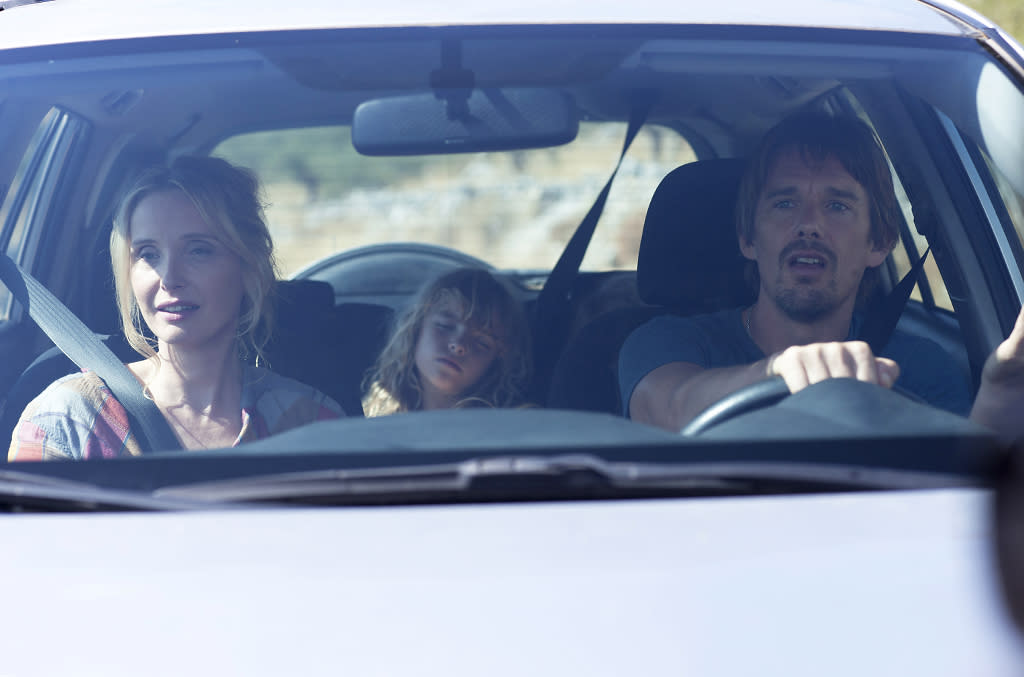 """Ethan Hawke and Julie Delpy in Sony Pictures Classics' """"Before Midnight"""" - 2013"""