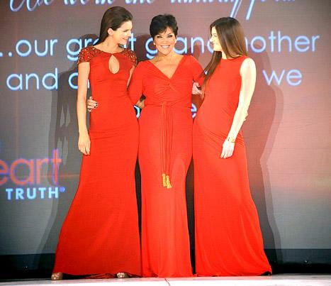 Kris Jenner Walks the Runway With Daughters Kendall and Kylie