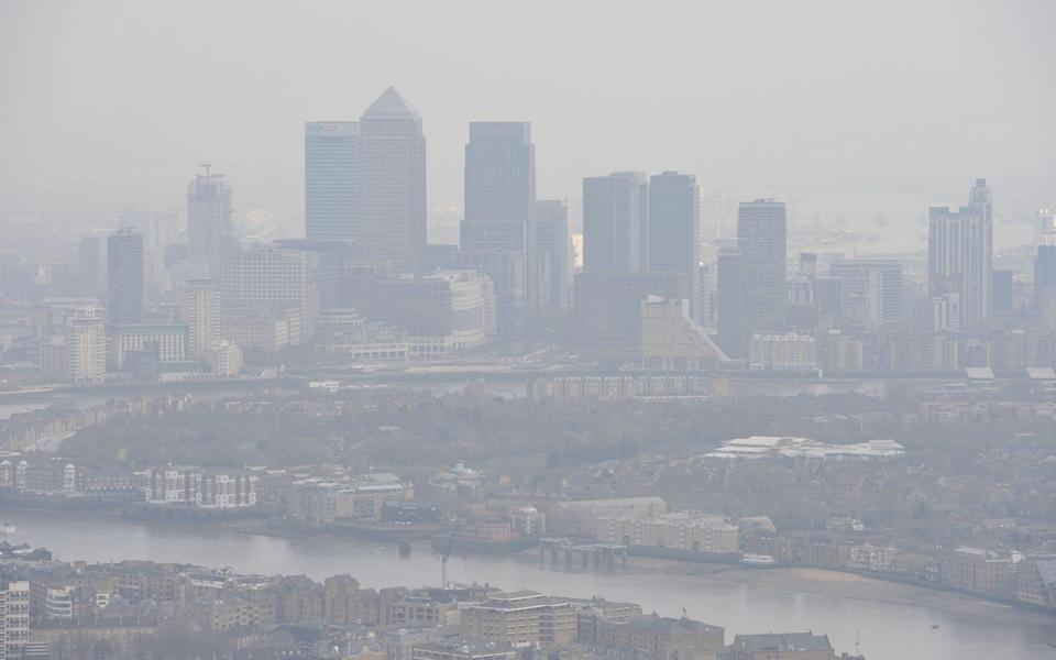 Air pollution in London - Nick Ansell/Pa/Wire