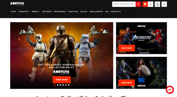 online toy stores in the philippines - anotoys collectibles