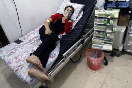 Syria's war: Calls for sanctions over chemical weapons