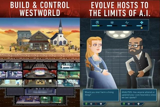 You can play God in the 'Westworld' mobile game. But you'll also have to face the consequences.