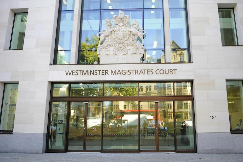 """Gomes had become """"fixated"""" on the barrister's stepdaughter, Westminster magistrates' court heard (PA Archive/PA Images)"""