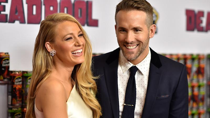 Ryan Reynolds had some fun with his wife,Blake Lively,after photos of the actress surfaced from the set of her new movie.