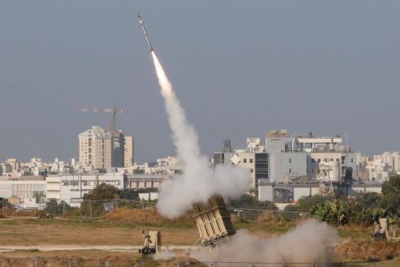 Interceptor: the Israeli Iron Dome defence system in Ashdod (AFP/Getty)