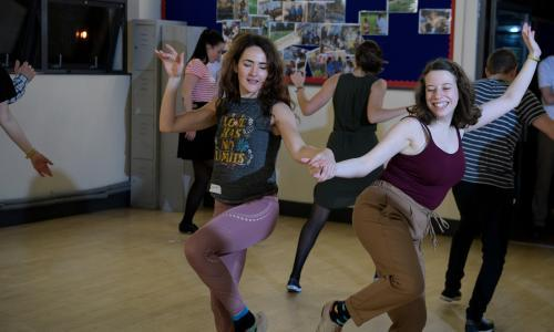Victory dance: getting into the swing for 75th anniversary of VE Day