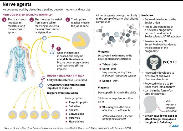 Fact file on nerve agents and what we know of novichok