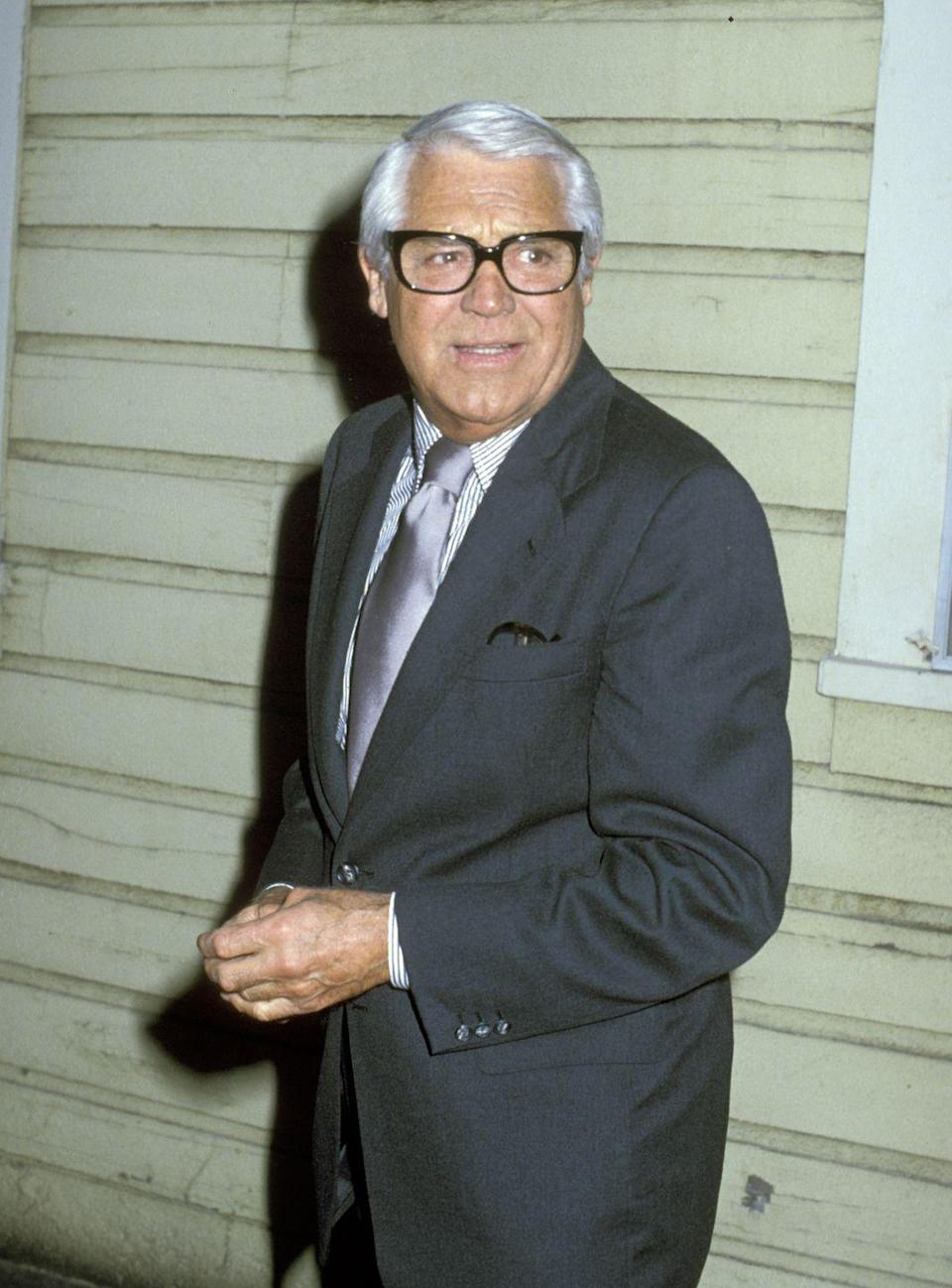 <p>In 1975, Grant joined the board of MGM Studio. Throughout his impeccable career, the film star made many pictures with the studio. Here, he attends the studio's premiere for <em>The Champ</em>. </p>