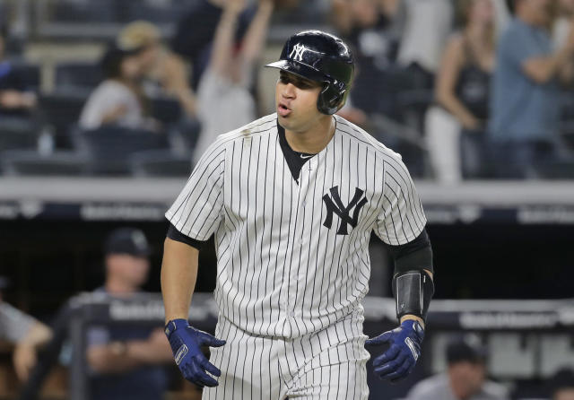 Gary Sánchez is on the disabled list, but Mike Francesa isn't sure he's really hurt. (AP Photo)