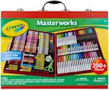 <p>Budding artists will love this <span>Crayola Masterworks Art Case</span> ($40, originally $50). From markers to Crayons, the set has so much pieces and colors.</p>