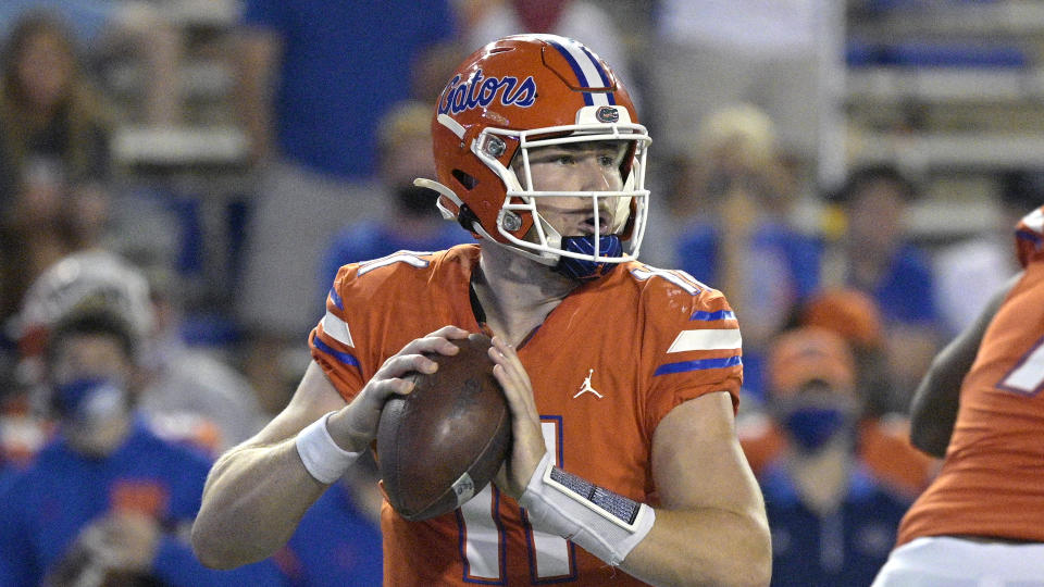 Florida quarterback Kyle Trask has been on a tear this season. (AP Photo/Phelan M. Ebenhack)