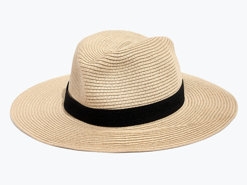 Packable Mesa Straw Hat (Photo: Madewell)