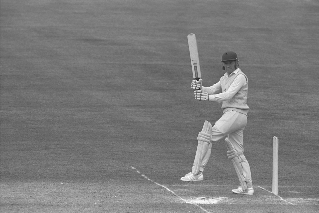 Apr 1980:  Mike Denness cracks a four for reigning county champions Essex during their match against the MCC at Lords.  Mandatory Credit:  Adrian Murrell/Allsport UK