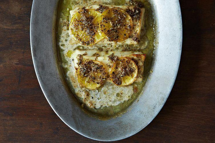 Grilled Lemon Halloumi on Food52