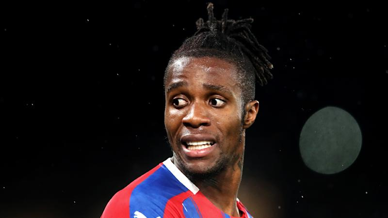 Police arrest boy, 12, after racist messages sent to Crystal Palace's Wilfried Zaha