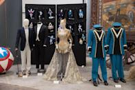 "<p>""This is what [Colette] wears when she comes to Dreamland, and there's this huge circus parade there with around 100-200 acts, and we had about 600 extras,"" says Atwood. ""The guards there are kinda based on World Fair uniforms."" (Disney) </p>"