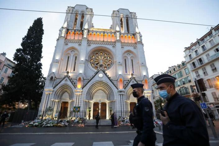 Nice mourns after deadly knife attack
