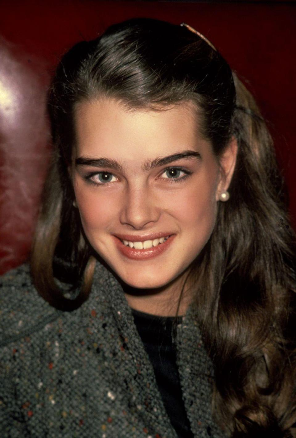 """<p><a href=""""https://www.goodhousekeeping.com/life/a19606665/brooke-shields-bikini/"""" rel=""""nofollow noopener"""" target=""""_blank"""" data-ylk=""""slk:Brooke's"""" class=""""link rapid-noclick-resp"""">Brooke's</a> first role was in an Ivory soap commercial, but she shook up the world as a child prostitute in the movie <em>Pretty Baby. </em> She went on to star in the popular teen romances <em><a href=""""https://www.amazon.com/dp/B001OD8MX4?tag=syn-yahoo-20&ascsubtag=%5Bartid%7C10050.g.24736857%5Bsrc%7Cyahoo-us"""" rel=""""nofollow noopener"""" target=""""_blank"""" data-ylk=""""slk:The Blue Lagoon"""" class=""""link rapid-noclick-resp"""">The Blue Lagoon</a> </em>and <em><a href=""""https://www.amazon.com/Endless-Love-Brooke-Shields/dp/B00AFPCACG?tag=syn-yahoo-20&ascsubtag=%5Bartid%7C10050.g.24736857%5Bsrc%7Cyahoo-us"""" rel=""""nofollow noopener"""" target=""""_blank"""" data-ylk=""""slk:Endless Love"""" class=""""link rapid-noclick-resp"""">Endless Love</a>. </em>She's had many adult roles, including her own hit TV series <em>Suddenly Susan </em>in the '90s. And, of course, nothing ever came between her and her Calvins. </p>"""