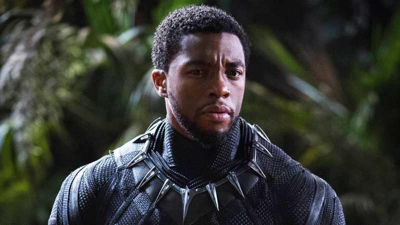 Chadwick Boseman in 'Black Panther' (Disney/Marvel)