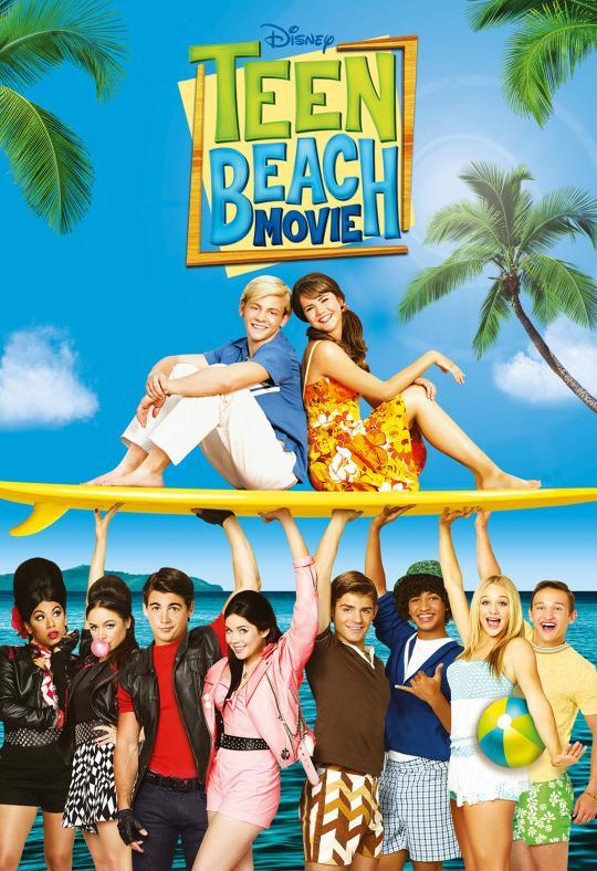 <p>Do you want to see teenagers in swimwear? That's your business. This movie is about teenagers who accidentally get transported INTO a 1960s beach movie. Because if there's one thing the children of 2015 craved, it was a riff on 1960s beach movies.<br><br><i>(Credit: Disney Channel)</i> </p>